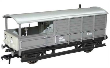 Model of Toad, the GWR brake van from the Thomas the Tank Engine books and TV series.