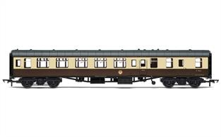 BR Mk1 Brake Second Open Chocolate & Cream W9264