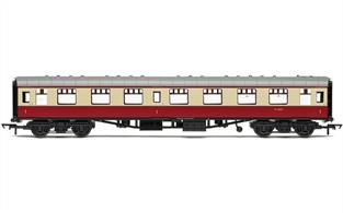 BR Mk1 Parcels Coach Crimson & Cream M80584