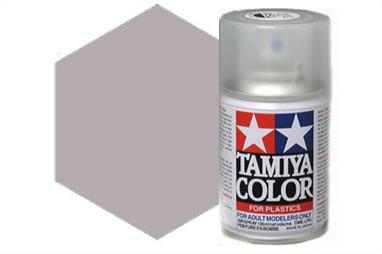 Tamiya TS71 Synthetic Lacquer Smoke Spray 100ml TS-71These cans of spray paint are extremely useful for painting large surfaces, the paint is a synthetic lacquer that cures in a short period of time. Each can contains 100ml of paint, which is enough to fully cover 2 or 3, 1/24 scale sized car bodies.