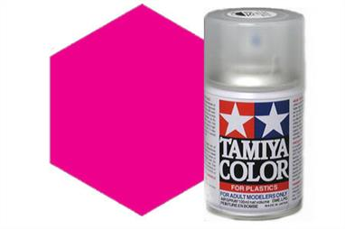 Tamiya TS74 Clear Red Synthetic Lacquer Spray 100ml TS-74These cans of spray paint are extremely useful for painting large surfaces, the paint is a synthetic lacquer that cures in a short period of time. Each can contains 100ml of paint, which is enough to fully cover 2 or 3, 1/24 scale sized car bodies.