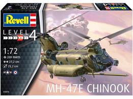 Revell 03876 1/72nd MH-47 Chinook Helicopter Kit
