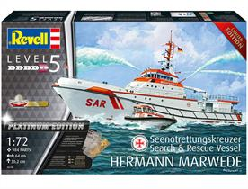 Revell 05198 1/72nd 150 Jahre DGzRS Hermann Marwede Rescue Ship Kit Platinum Edition