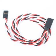 Etronix 60cm 22Awg Futaba Twisted Extension Wire