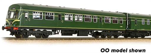 Graham Farish 371-508 BR Class 101 2 Car DMU Green with Speed Whiskers N