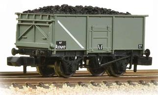 A good model of one of British Rails most common wagons, used for all types of coal and mineral ore traffic. This model is painted in the standard grey livery carried by many of these wagons throughout their service life.