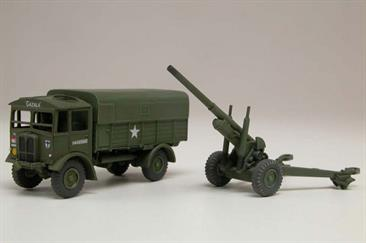 "Airfix A01314V 1/76 Scale AEC Matador and 5.5"" Gun"