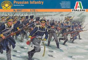Italeri 1/72 Prussian Infantry Napoleonic War 6067Contains 48 figuresPaints are required