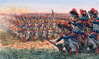 Italeri 1/72 French Grenadiers Napoleonic War 6072Box contains 50 figuresGlue and paints are required to complete the figures (not included)