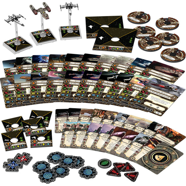 Most Wanted Expansion Pack from Star Wars X-Wing