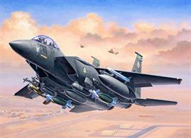 Revell 1/144 F-15E Strike Eagle & Bombs 03972Glue and paints are required
