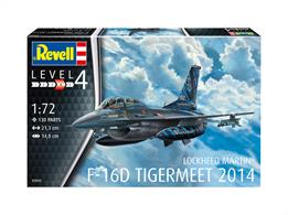 Revell 03844 1/72nd F-16D Fighting Falcon Fighter KitGlue and paints are required