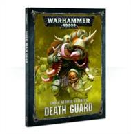 Codex: Death Guard contains a wealth of background and rules – the definitive book for Death Guard collectors.