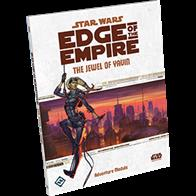 Scrape together a crew and prepare for the heist of a lifetime in The Jewel of Yavin, a ninety page adventure supplement for Star Wars®: Edge of the Empire™.Set in Bespin's Cloud City, The Jewel of Yavin includes plenty of opportunities for all characters to shine as they work to steal the priceless corusca gem.
