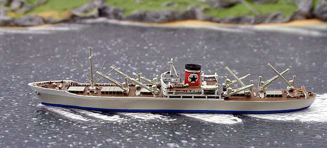 Albatros 1/1250 SS Fremantle Star AL266