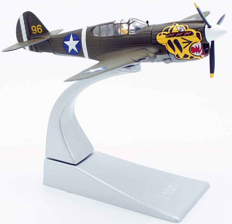 Corgi AA35205 1/72 Scale  Curtiss P40E Warhawk as flying from the Aleutian Islands during 1943
