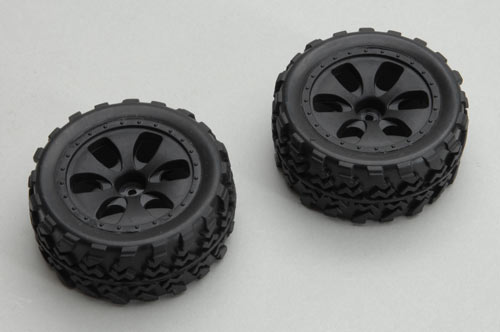 Wheel & Tyre 2 Pieces for Ripmax Husky