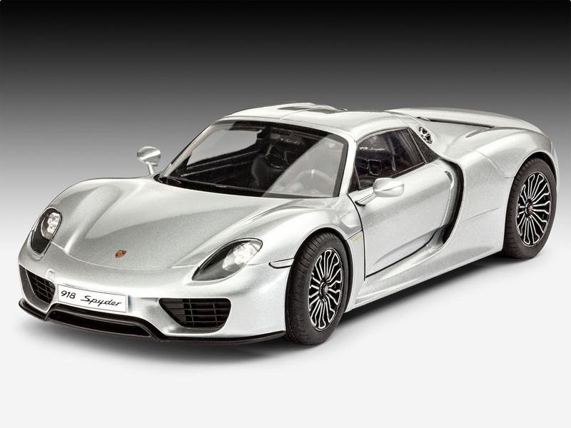 Revell Porsche 918 Spyder Kit 1 24 07026