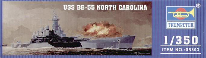 Trumpeter 05303 USS BB-55 North Carolina Battleship