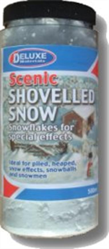 Snow material designed to quickly replicate packed, shovelled snow piles, including heaps from snow clearance work, thick drifts and snowmen!500ml canister.