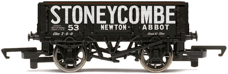 Hornby Stoneycombe, Newton Abbot 4 Plank Open Wagon OO R6670
