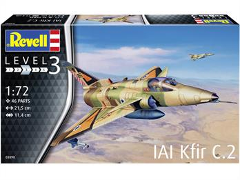 Revell 03890 1/72 Kfir C-2 Jet Fighter Kit