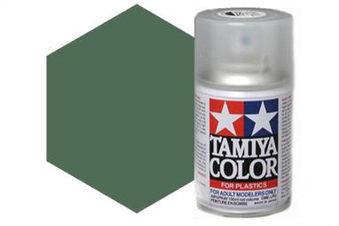 Tamiya TS78 Field Grey Synthetic Lacquer Spray Paint 100ml TS-78These cans of spray paint are extremely useful for painting large surfaces, the paint is a synthetic lacquer that cures in a short period of time. Each can contains 100ml of paint, which is enough to fully cover 2 or 3, 1/24 scale sized car bodies.