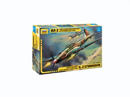 Zvezda 7279 1/72nd Soviet Illyushin IL-2M WW2 Fighter Bomber KitNumber of Parts 75   Length 160mm