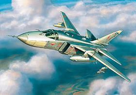 Zvezda 7268 1/72nd Russian Su-24MR Reconnaissance Aircraft KitNumber of Parts 112   Length 320mm