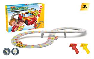 A great introduction to the world of Scalextric racing for kids 3+, featuring an easy-to-assemble figure-of-eight track.