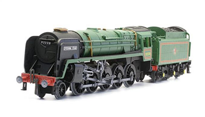 Dapol OO BR Evening Star Riddles 9F 2-10-0 Plastic Kit C49Moulded in grey plasticGlue and paints are required to assemble and complete the model (not included)