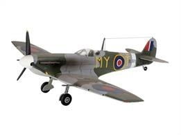 Revell 1/72 British Supermarine Spitfire MK 5 Fighter Aircraft Kit 04164Length 127mm Number of Parts  Wingspan 140mmGlue and paints are required