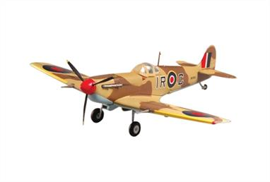 Easy Model E37217 1/72 Scale Spitfire MkV/Trop. 224 Sqn 1943Pre-painted and assembled plastic model, paint and glue not required.