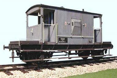 Plastic kit to build a model of the BR standard design guards goods brake van. The kit can also be detailed as the earlier LNER design van, from which the standard design was created.Supplied with metal wheels, 3 link couplings and sprung buffers