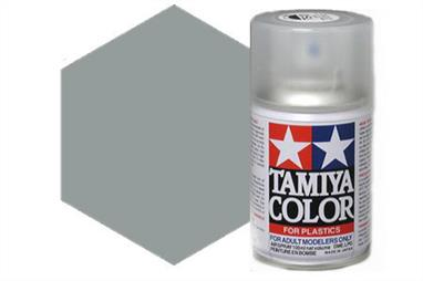 Tamiya AS2 Light Grey IJN Synthetic Lacquer Spray Paint 100ml AS-2Tamiya AS Spray paint, much like�the TS Sprays, are meant for plastic models. These spray paints are specially developed for finishing aircraft models. Each color is formulated to provide the authentic tone to 1/32 and 1/48 scale model aircraft. now, the subtle shades can be easily obtained on your models by simple spraying. Each can contains 100ml of synthetic lacquer paint.