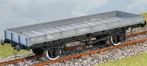 Parkside Kits PS22 LMS & LNER 20T Plate Wagon Rivetted Version O Gauge