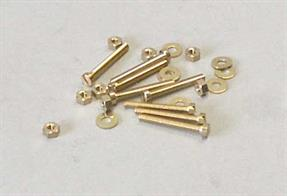 Pack of 8 12BA cheesehead bolts with nuts.
