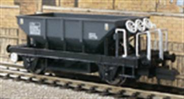 The Dogfish was one of the most common types of self-discharging ballast hopper wagon built by British Railways, offering the ability to control and distribute ballast through 3 outlets, delivering between the rails and/or to either side. These wagons were in service with the BR PW engineers into the 1980s and many heritage railways have purchased them.Dapol have succeeded in recreating the detailed design features of the wagon with fine handrails, hopper control wheels, shafts and even gearboxes represented. The hopper interior is clear and includes the bottom stiffening ribs, while weight is added between the hopper side chutes. Finely printed and legible data panels complete this superb model.