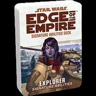 The Explorer Signature Abilities Deck keeps the text of your Explorers's Signature Abilities close at hand, allowing you to use them swiftly, rather than pause at critical junctures to look them up.Each Signature Ability contains:2 cover cards (including a reference guide for each deck)20 standard sized cards