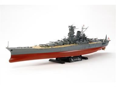 Tamiya 1/350 Japanese Battleship Yamato With Stand 78030Model Length 750mm.
