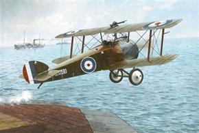 Roden ROD044 1/72 Scale Sopwith 2F1 CamelPlastic model assembly kit, requires paint and glue.