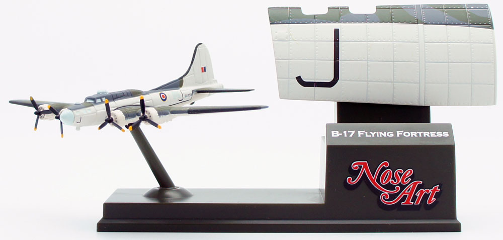 Boeing B-17, RAF Coastal Command. Model wingspan 120mm