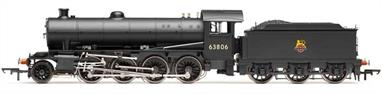 A highly detailed model of the Thompson design O1 class 2-8-0 heavy freight locomotive for the LNER finished in early British Railways black livery with lion over wheel emblem.Expected October 2019Era 4, early British Railways 1948-1956. DCC Ready. 8-pin decoder required for DCC operation.