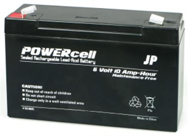 PowerTech or Yuasa Gel cell lead acid batteries are produced to exacting industrial standards. Heavy duty case design with superb quality assembly and quality control means that you can rely on these cells to provide you with reliable starting power, drive power, and glow power charge after charge and year after year. Use the 12 Volt in your flight box. The 6 volt versions make great drive cells for all sizes of electric boat. Guaranteed leak-proof and non-hazardous. Simply the best gel cells for R/C modelling.Recharge regularly to keep in tip-top condition. Length 151mm, Width 50mm, Height 94mm