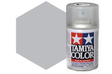Tamiya AS12 Silver Bare Metal Synthetic Lacquer Spray Paint 100ml AS-12Tamiya AS Spray paint, much like�the TS Sprays, are meant for plastic models. These spray paints are specially developed for finishing aircraft models. Each color is formulated to provide the authentic tone to 1/32 and 1/48 scale model aircraft. now, the subtle shades can be easily obtained on your models by simple spraying. Each can contains 100ml of synthetic lacquer paint.