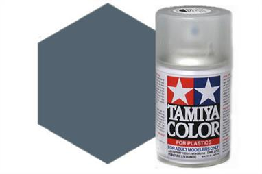 Tamiya AS10 Ocean Grey RAF Synthetic Lacquer Spray Paint 100ml AS-10Tamiya AS Spray paint, much like the TS Sprays, are meant for plastic models. These spray paints are specially developed for finishing aircraft models. Each color is formulated to provide the authentic tone to 1/32 and 1/48 scale model aircraft. now, the subtle shades can be easily obtained on your models by simple spraying. Each can contains 100ml of synthetic lacquer paint