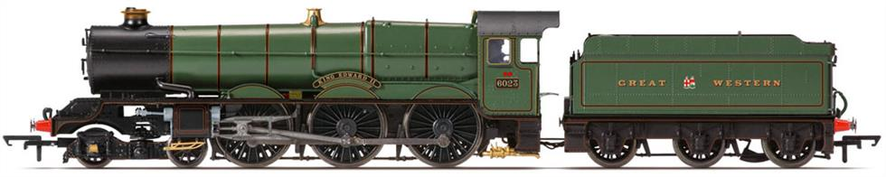 Hornby Railways OO Gauge R3534 GWR 6024 King Edward II Collett 60xx King Class Express Passenger 4-6-0 GWR Lined Green Lettered Great Western