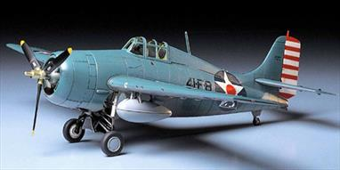 Tamiya 1/48 Grmman Wildcat F4F4 US Navy Fighter Model 61034Model length approx 184mm.Glue and paints are required