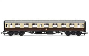Hornby BR MK1 First Open Chocolate & Cream W3090