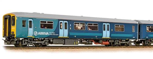 Bachmann Branchline 32-939 OO Gauge Arriva Trains Wales 150236 Class 150/2 2-car Diesel Multiple Unit Train. Arriva Trains Wales 2013 Livery.DCC and Sound Fitted